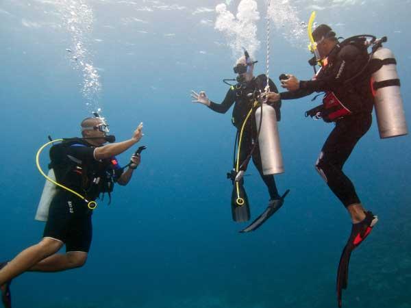 PADI Master Scuba Diver Trainer Courses Pattaya